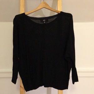 3/$15 Black Crew Neck Sweater
